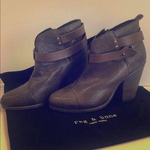 Rag N Bone leather ankle boots